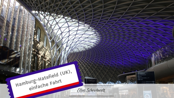 Kings Cross Station London Hamburg Hatsfield Ellas Schreibwelt