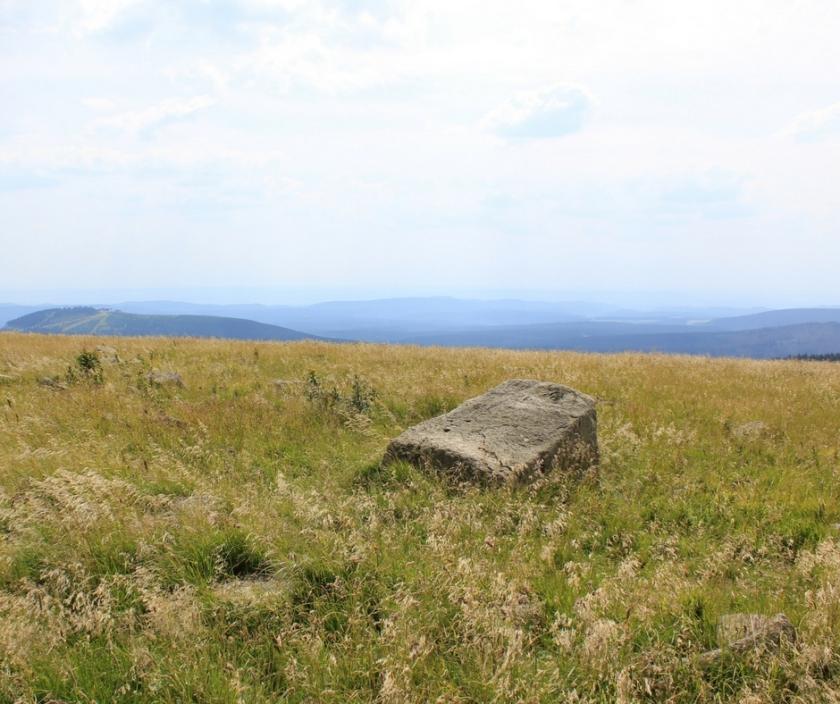 Brocken Aussicht über den Harz Ellas Schreibwelt
