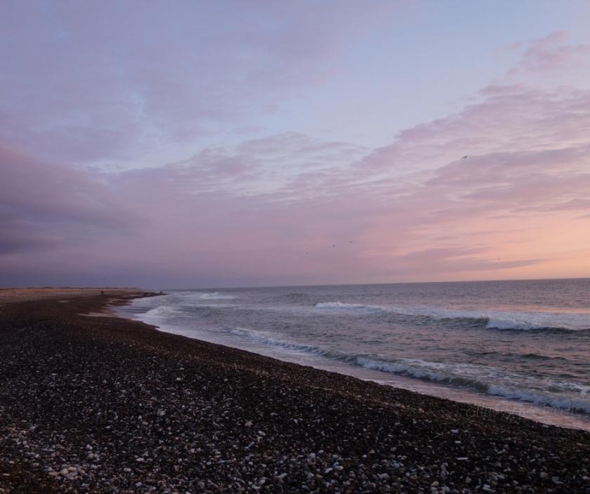 Strand Varupor Dänemark Sonnenuntergang Ellas Schreibwelt