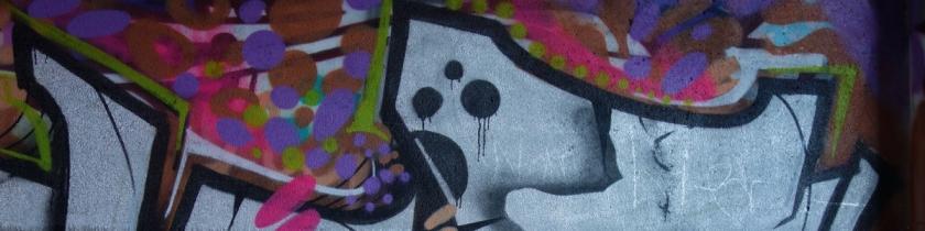 Graffiti Unterstand Knechtsche Halle Elmshorn Ellas Schreibwelt