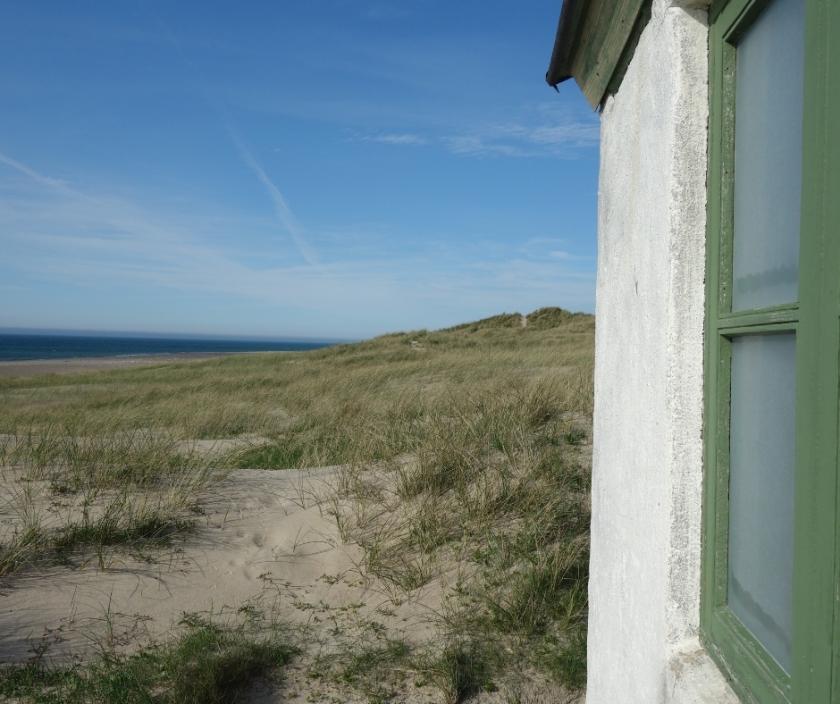 Blick von Stenbjerg Landungsplatz Dänemark auf die Nordsee Ellas Schreibwelt