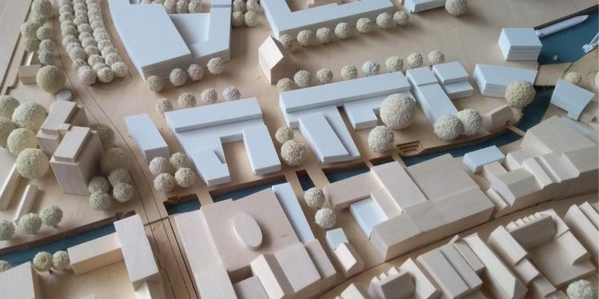 Modell der Stadt Elmshorn Ellas Schreibwelt